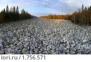 Купить «Тыгынский курум», фото № 1756571, снято 24 сентября 2007 г. (c) Рамиль Юсупов / Фотобанк Лори