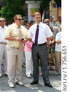 Сергей Шувайников и Виктор Попов (2010 год). Редакционное фото, фотограф Кирилл Губа / Фотобанк Лори