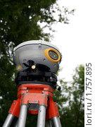 Геодезический GPS-приёмник. Стоковое фото, фотограф Павел Красихин / Фотобанк Лори