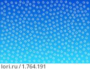 Купить «Абстрактный белый узор на голубом фоне», иллюстрация № 1764191 (c) Татьяна Васина / Фотобанк Лори