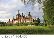 Купить «Казанский собор в селе Шамордино», эксклюзивное фото № 1764403, снято 26 мая 2010 г. (c) Дмитрий Неумоин / Фотобанк Лори