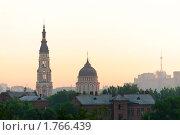 Летний рассвет в Харькове (2010 год). Стоковое фото, фотограф Сергей Дыбтан / Фотобанк Лори