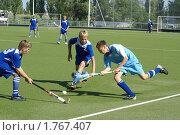 Купить «Хоккей на траве», фото № 1767407, снято 12 июня 2010 г. (c) Александр Тихонов / Фотобанк Лори