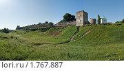 Купить «Башня Луковка, северный захаб, башня Талавская, башня Вышки, Корсунская часовня», фото № 1767887, снято 5 июня 2010 г. (c) Виктор Пелих / Фотобанк Лори