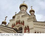 Купить «Православная церковь, Нижний Новгород», фото № 1769427, снято 1 июня 2010 г. (c) Емельянова Светлана Александровна / Фотобанк Лори
