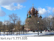 Купить «Храм Троицы Живоначальной в Останкино. Москва», эксклюзивное фото № 1771035, снято 23 марта 2010 г. (c) lana1501 / Фотобанк Лори