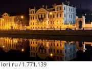 Купить «Санкт-Петербург, набережная реки Фонтанки ночь», фото № 1771139, снято 30 марта 2010 г. (c) Алексей Ширманов / Фотобанк Лори
