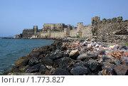 Купить «Замок Мамуре на Средиземноморском побережье Турции», фото № 1773827, снято 14 мая 2010 г. (c) Раппопорт Михаил / Фотобанк Лори