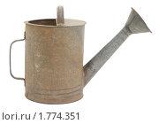 Купить «Металлическая лейка», фото № 1774351, снято 13 июня 2010 г. (c) Алексей Варлаков / Фотобанк Лори