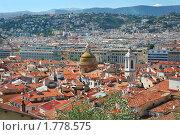 Купить «Панорамный вид города Ницца. Франция.», фото № 1778575, снято 13 июля 2008 г. (c) Николай Винокуров / Фотобанк Лори