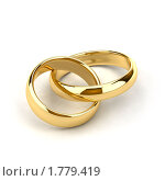 Купить «Золотые обручальные кольца», иллюстрация № 1779419 (c) Антон Балаж / Фотобанк Лори