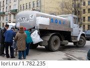 Купить «Молоковоз», фото № 1782235, снято 17 апреля 2010 г. (c) Даша Богословская / Фотобанк Лори