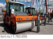 Купить «Выставка строительной техники», эксклюзивное фото № 1783659, снято 5 июня 2010 г. (c) Журавлев Андрей / Фотобанк Лори