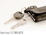 Купить «Ключи от дома и машины», фото № 1785871, снято 21 июня 2010 г. (c) Peredniankina / Фотобанк Лори