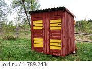 Купить «Туалет и душ деревенский», фото № 1789243, снято 9 мая 2010 г. (c) Елена Ильина / Фотобанк Лори