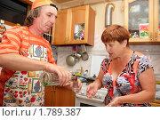 Купить «Семейная ссора на почве пьянства», фото № 1789387, снято 21 июня 2010 г. (c) Анна Мартынова / Фотобанк Лори