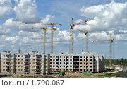 Купить «Строительство», фото № 1790067, снято 18 июня 2010 г. (c) Александр Кокарев / Фотобанк Лори