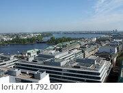 Германия. Гамбург. Вид на город. (2010 год). Стоковое фото, фотограф Корчагина Полина / Фотобанк Лори