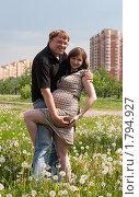 Счастливая семья. Стоковое фото, фотограф Алексей Судариков / Фотобанк Лори