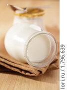 Купить «Баночки с йогуртом», фото № 1796639, снято 27 мая 2010 г. (c) Stockphoto / Фотобанк Лори