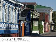 Купить «Городец на Волге. На улочке города», фото № 1798235, снято 26 июня 2010 г. (c) Gagara / Фотобанк Лори