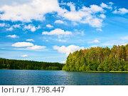 Озеро и облака. Стоковое фото, фотограф Екатерина Душенина / Фотобанк Лори