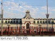 Главный дом нижегородской ярмарки (2010 год). Стоковое фото, фотограф Igor Lijashkov / Фотобанк Лори