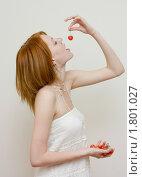 Черешневый соблазн. Стоковое фото, фотограф Валерий Степанов / Фотобанк Лори