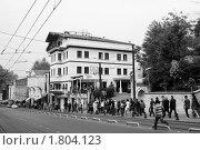 Купить «Стамбул, центральная улица», фото № 1804123, снято 7 мая 2010 г. (c) Ирина Крамарская / Фотобанк Лори
