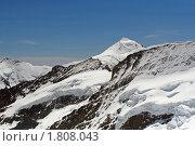 Купить «В швейцарских Альпах.  У вершины», фото № 1808043, снято 22 июня 2010 г. (c) Сергей Лебедев / Фотобанк Лори