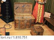 Старинные сундуки (2010 год). Редакционное фото, фотограф Василий Кореньков / Фотобанк Лори
