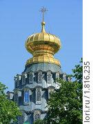 Купить «Купол собора Ново-Иерусалимского монастыря», фото № 1816235, снято 15 мая 2010 г. (c) Дмитрий Алимпиев / Фотобанк Лори