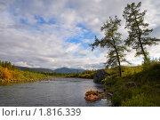 Купить «Река Балбанъ-Ю», фото № 1816339, снято 3 августа 2008 г. (c) Олег Голиков / Фотобанк Лори