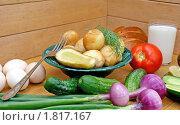 Купить «Сельский обед», фото № 1817167, снято 6 июля 2010 г. (c) Сергей Гавриличев / Фотобанк Лори