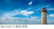 Старый маяк на фоне неба. Стоковое фото, фотограф Дмитрий Рухленко / Фотобанк Лори