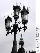 Фонарь, Дрезден, Германия. Стоковое фото, фотограф Любовь Сафонова / Фотобанк Лори