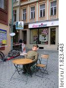 Солдат Швейк, Карловы Вары, Чехия (2008 год). Редакционное фото, фотограф Любовь Сафонова / Фотобанк Лори