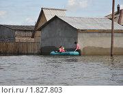 Купить «Наводнение», фото № 1827803, снято 26 июня 2010 г. (c) Free Wind / Фотобанк Лори