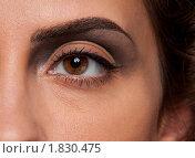 Женский глаз крупным планом. Стоковое фото, фотограф Александр Маркин / Фотобанк Лори
