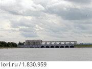 Купить «Гидроэлектростанция в Угличе», фото № 1830959, снято 27 июня 2010 г. (c) Марина Коробанова / Фотобанк Лори