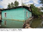 Купить «Затопленная усадьба», фото № 1831795, снято 26 июня 2010 г. (c) Free Wind / Фотобанк Лори