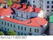 Купить «Коричневая крыша в Выборге», фото № 1833567, снято 10 июля 2010 г. (c) Александр Перченок / Фотобанк Лори