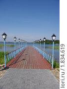 Причал на озере (2010 год). Стоковое фото, фотограф Наталья Камайкина / Фотобанк Лори