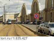 Купить «Рижский центральный рынок», фото № 1835427, снято 30 мая 2010 г. (c) Андрей Лабутин / Фотобанк Лори
