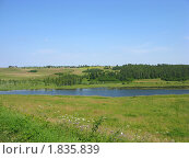 Купить «Летний пейзаж», фото № 1835839, снято 10 июля 2010 г. (c) Валентина Троль / Фотобанк Лори