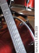 Купить «Гриф гитары», фото № 1836559, снято 15 мая 2010 г. (c) Сергей Галушко / Фотобанк Лори