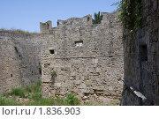Купить «Греция. Средневековая крепость города Родос.», фото № 1836903, снято 14 мая 2010 г. (c) Михаил Ворожцов / Фотобанк Лори