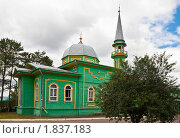 Купить «Первая соборная мечеть. Город Чистополь», эксклюзивное фото № 1837183, снято 13 июля 2010 г. (c) Кучкаев Марат / Фотобанк Лори