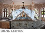 Нарзанный каптажный источник в Кисловодске. Стоковое фото, фотограф Анна Мартынова / Фотобанк Лори
