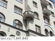 Дом со львами. Доходный дом Г. А. Гордон. Москва (2010 год). Стоковое фото, фотограф E. O. / Фотобанк Лори